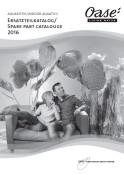 OASE Aquarium Spares Catalogue - 2016  PDF