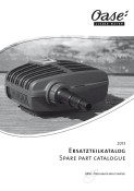 Oase Spares Catalogue - 2013 PDF